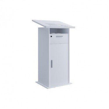 hire-lectern-white-Berlin-podium-rental-event-furniture-Germany
