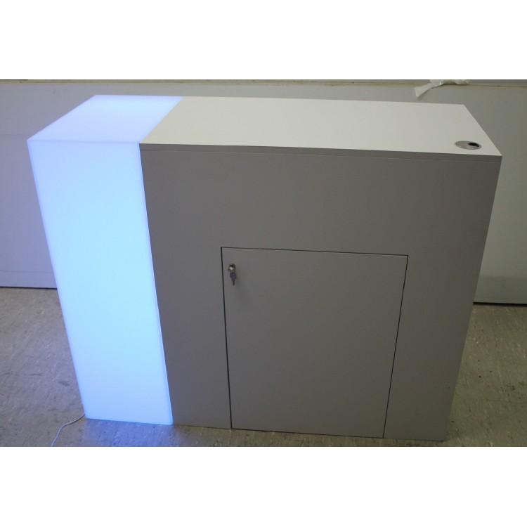event hire berlin lockable exhibition counter led. Black Bedroom Furniture Sets. Home Design Ideas
