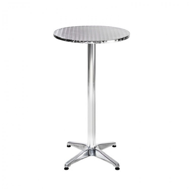 chrome-poseur-table-hire-Berlin-event-rental-company-Germany-bar-table