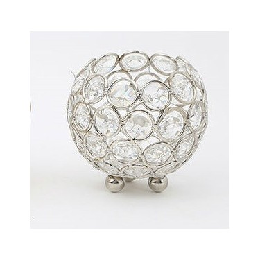 event-hire-round-crystal-holder-candle-decor