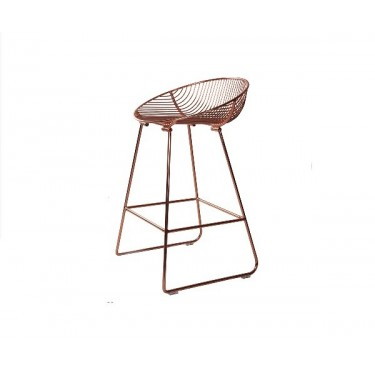 hire-copper-bar-stool-Berlin-rent-event-furniture-Hamburg-Germany-rose-gold